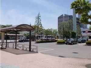 秋川駅ロータリー