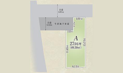 福生市大字熊川全1区画