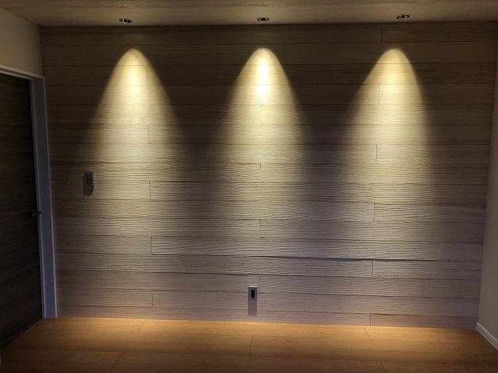 【その他内観】 (オプション造作イメージ)関接照明で部屋に陰影をつくることで、立体感が生まれます。※