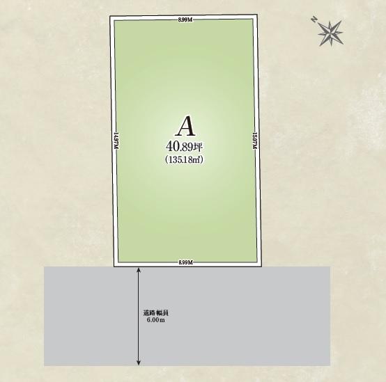 【全体区画図】 (建物プラン例)丁寧な打ち合わせにてヒアリングを行い、お客様のお好きな間取をプランニングいたします